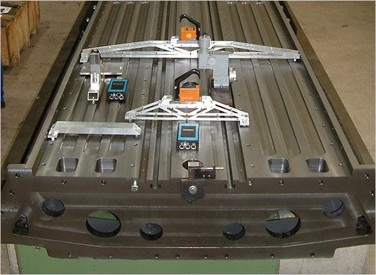 vodicí systém při montáži