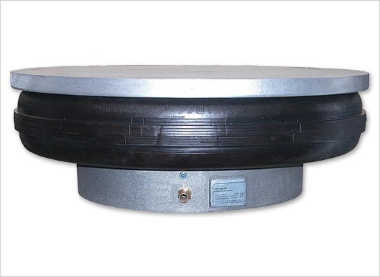 pásové pneumatické rolovací odpružení