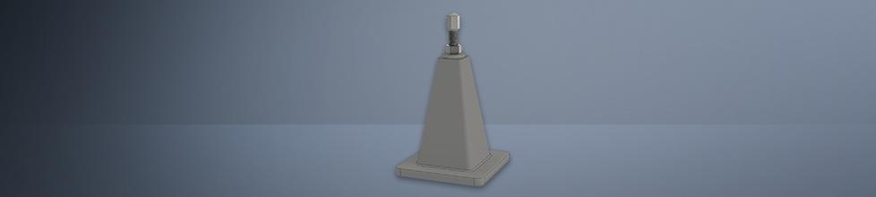 Stützbock zur Aufstellung von Anreißplatten
